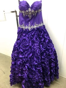 Vibrante Purple Dress