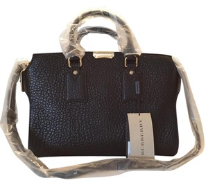 Burberry Clifton Satchel in Black