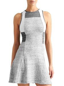 10 Crosby Derek Lam short dress Grey Color Block Fit & Flare Sweatshirt Fabric French Terry Lifestyle on Tradesy