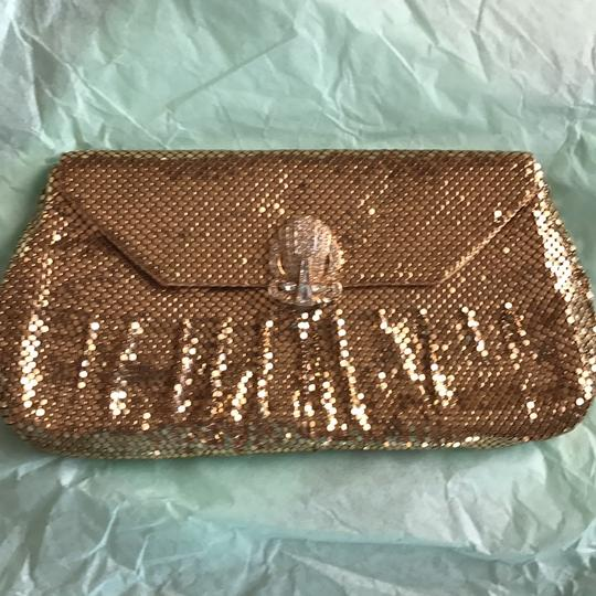 Whiting & Davis Gold Clutch