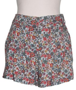 Anthropologie Printed Shorts MULTI COLOR