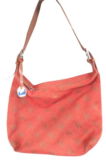 Dooney & Bourke Monogram & Medallion Shoulder Bag