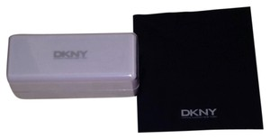 DKNY DKNY hard eyeglass case with cleaning cloth