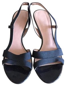 Calvin Klein Collection Navy Sandals