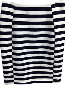 Ann Taylor Skirt Black And White