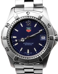 TAG Heuer Tag Huer Professional 200m Stainless Steel Watch