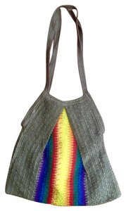 Other Crochet Lined Pride Hobo Bag