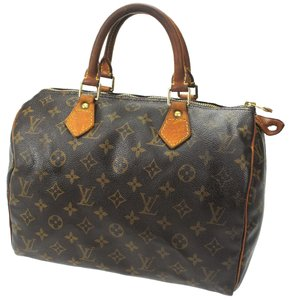 Louis Vuitton Monogram Satchel in Brown Monogram
