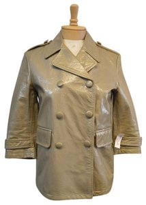 Gryphon Leather Tan Leather Jacket