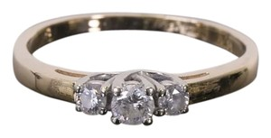 Libco 14K Yellow Gold Diamond Engagement Ring