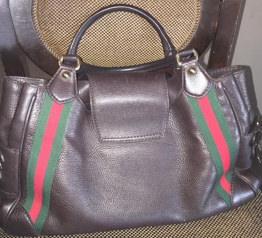 Gucci Satchel in Coffee/brown