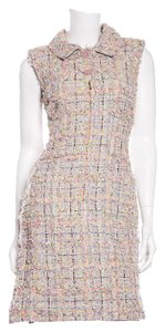Chanel short dress Gray & Multi on Tradesy
