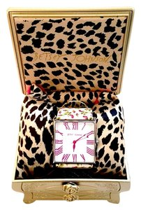 Betsy Betsy Johnson Floral Watch