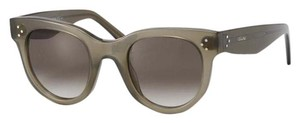 Céline NEW Celine CL 41053/S Baby Audrey Military Green Sunglasses
