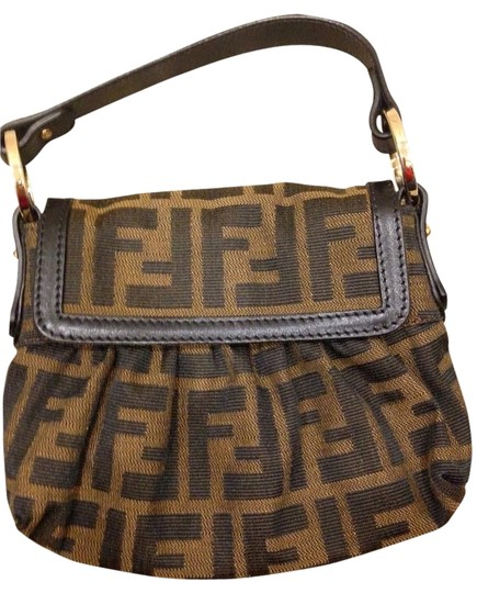 Fendi Tobacco Clutch