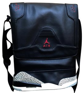 Nike Mens Air Jordan Rare black Messenger Bag
