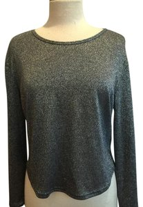 Everly Top Silver/Black
