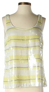 W by Worth Sequin Embellished Striped Top
