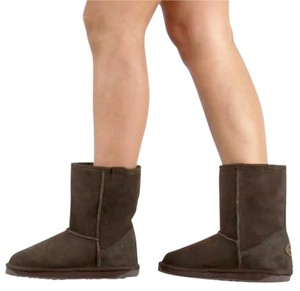 EMU Australia Stinger Lo Winter Sheepskin brown Boots