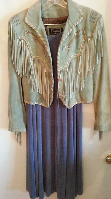 Double D Ranchwear Western Wear U.s. Wear Skirt Dusty Blue