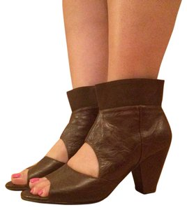 ALL BLACK Wedge Brown Sandals