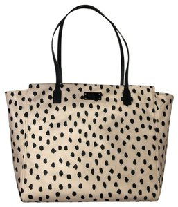 Kate Spade 098689888521 Tote in Flamingo Dot