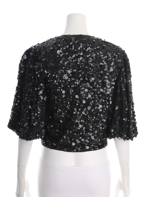 Adrienne Landau Sequin V-neck Evening New With Tags Cape