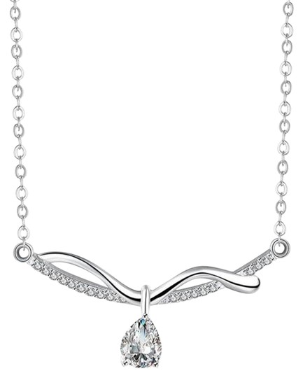 Preload https://img-static.tradesy.com/item/15940795/freestyle-silver-plated-cubic-zirconia-necklace-0-1-540-540.jpg