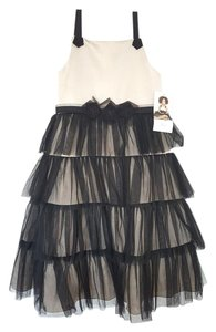 US Angels Tulle Bow Dress