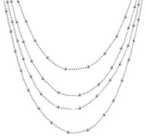 Freestyle Silver Plated Fashion popular chain necklace