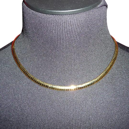 Other Gold-Tone Omega Chain Necklace