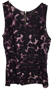 Ann Taylor Top Black/ Purple