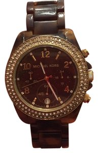 MICHAEL Michael Kors Tortoise Shell Michael Kors Watch