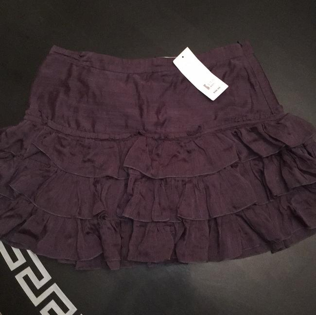 French Connection Mini Skirt Smudge Grey