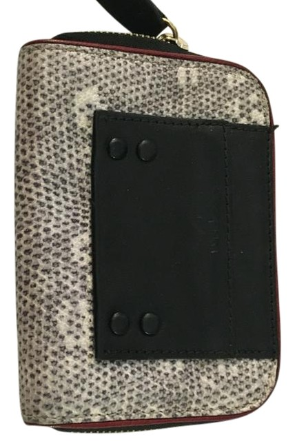 Item - Navy Red and White Wallet