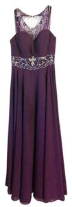 LightInTheBox Embellished Purple Gown Prom Dress