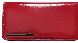 Kenneth Cole Wristlet in Red / Black Inside