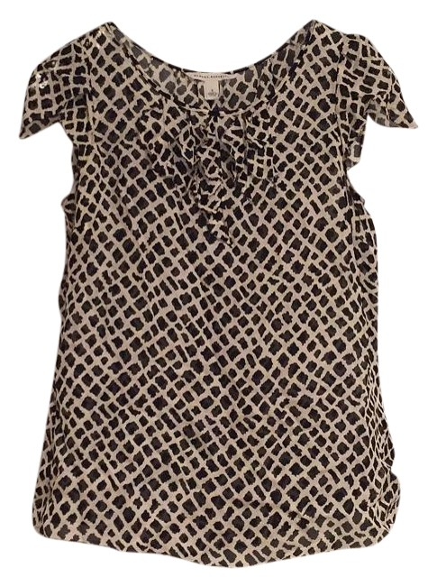 Banana Republic Top Black/White