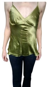 Eight Sixty Silk Top Green