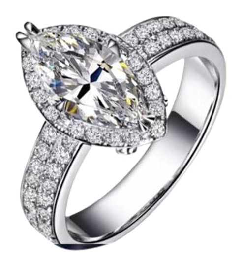 Preload https://img-static.tradesy.com/item/15943528/silver-new-5ct-marquis-white-sapphire-925-6-ring-0-1-540-540.jpg
