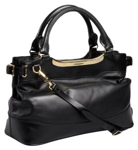 Burberry Bridle Satchel in Black