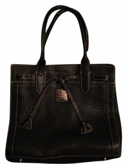 Preload https://item4.tradesy.com/images/dooney-and-bourke-black-leather-tote-159443-0-0.jpg?width=440&height=440