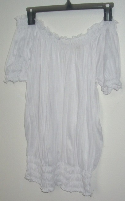 Allison Brittney Top White