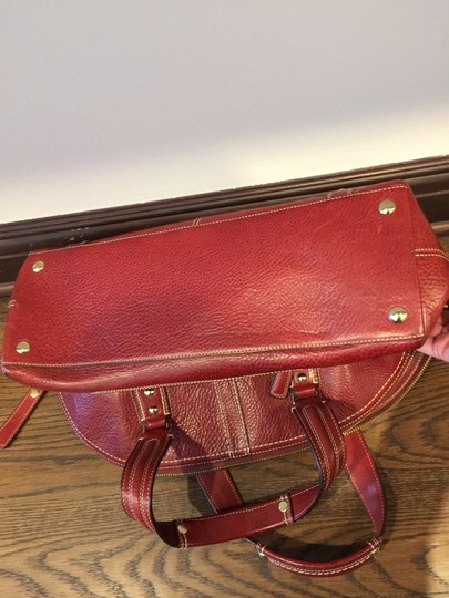 Coach Satchel in Red, Wine, Bordeaux Image 3