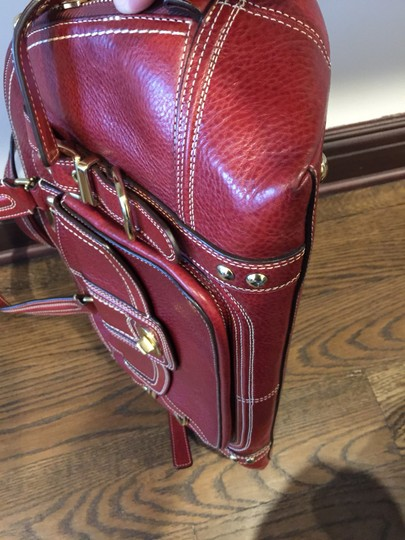 Coach Satchel in Red, Wine, Bordeaux Image 5