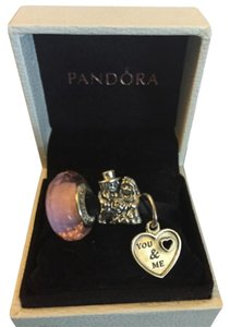 PANDORA Pandora Valentine's Love Themed Charm Set