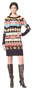 Jessica Simpson short dress Multicolored Long Sleeve Sweater on Tradesy