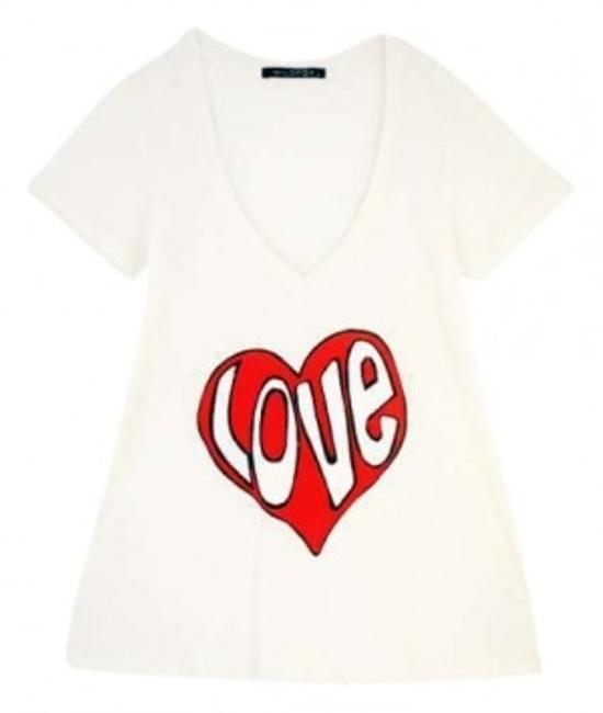 Preload https://item5.tradesy.com/images/wildfox-white-love-v-neck-tee-shirt-size-4-s-159454-0-0.jpg?width=400&height=650