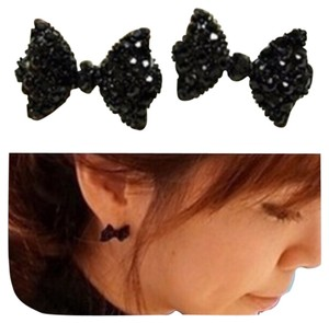 Bow Ring And Earring Set