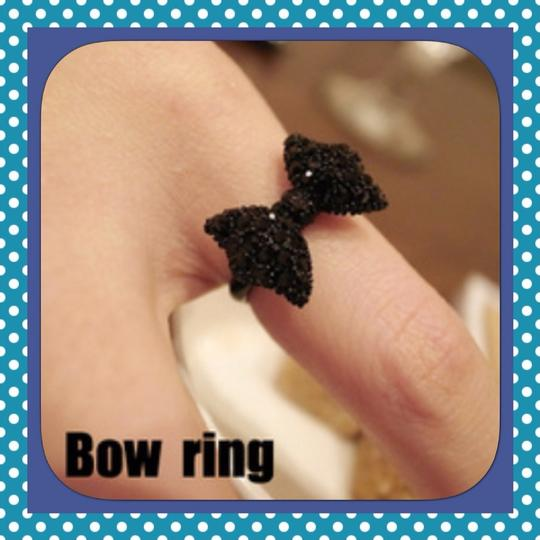 Other Bow Ring And Earring Set